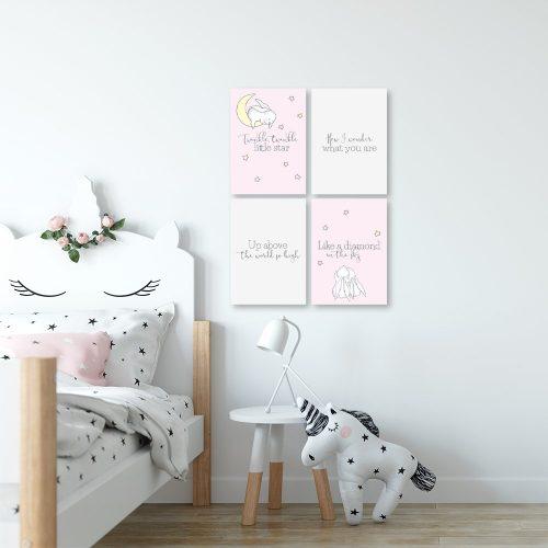 plakaty skandynawskie jako zestaw