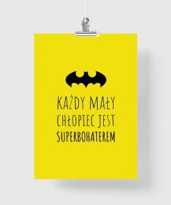 batman na plakacie