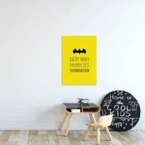 Plakaty dla dzieci żółte i pomarańczowe