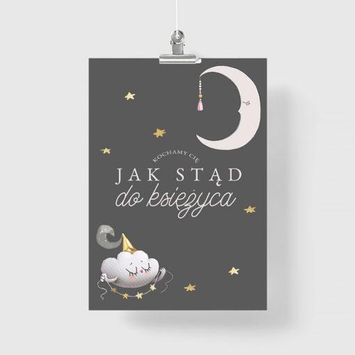 skandynawski plakat pionowy