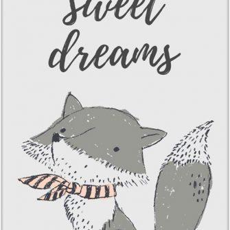 plakat zachęcający do snu