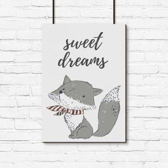 sweet dreams na plakacie