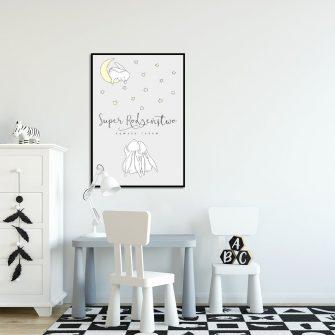plakat skandynawski