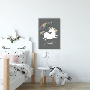 Plakaty dla dzieci jednorożce