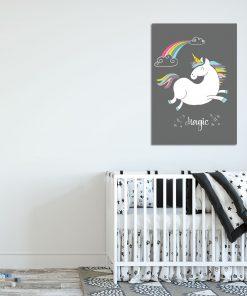 plakat nad łóżeczko