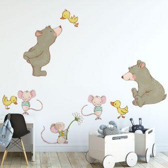 Naklejka do pokoju dziecięcego