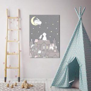 Obrazy dla dzieci czarno-białe, szare