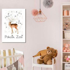Plakaty dla dzieci beżowe i kremowe