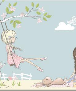 Obraz do pokoju dziewczęcego