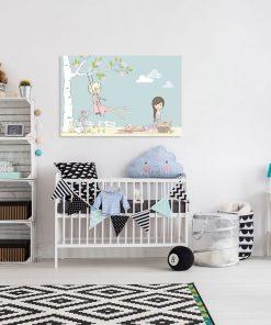 Obraz do pokoju dziewczynki