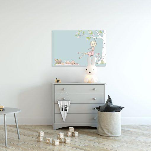 Obraz do dekoracji pokoju dziewczynki