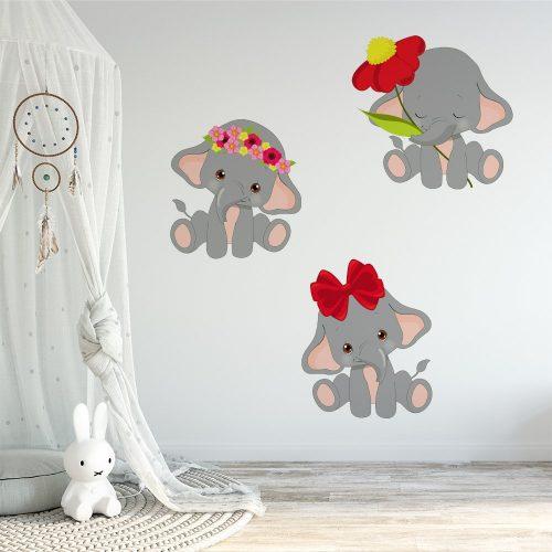 słonie na ścianę