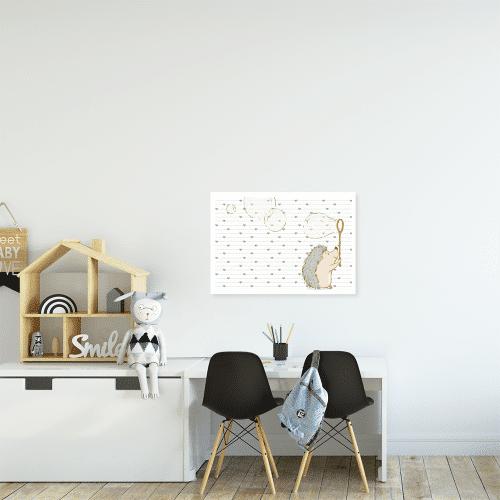 jeżyk na plakacie