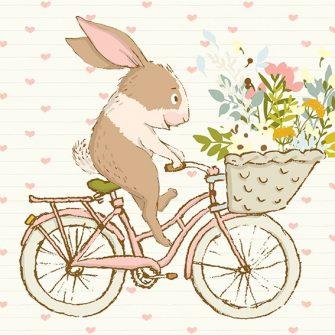 motyw królika jako tapeta