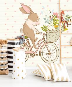 tapeta z królikiem