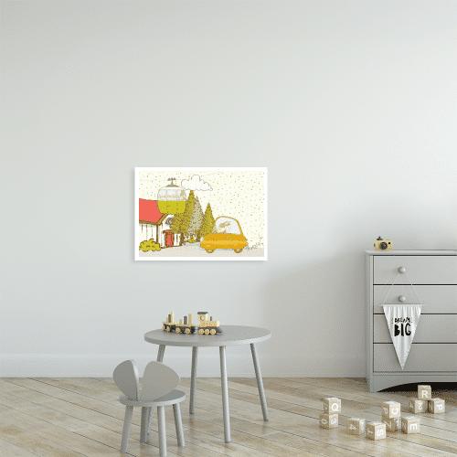 kolorowy plakat do pokoju