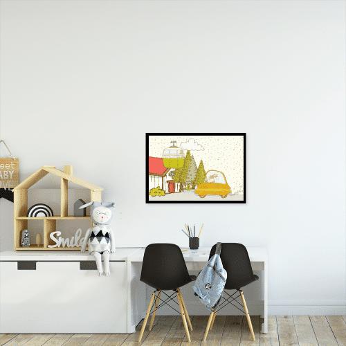 zwierzątka na plakacie