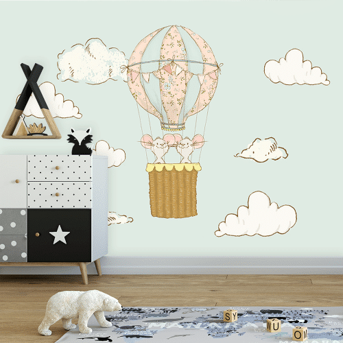 balon z myszkami