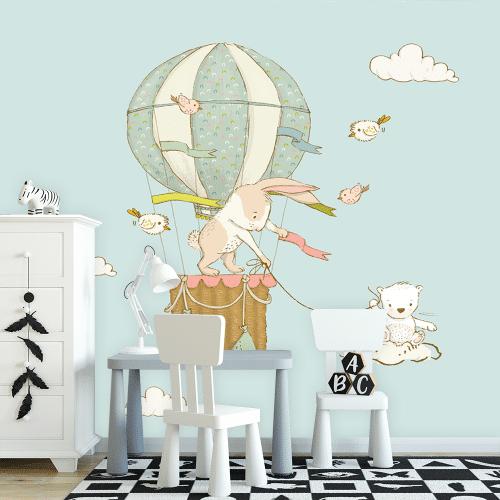 króliczki w balonie