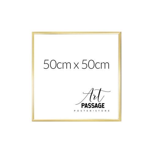 Rama złota w rozmiarze 50x50 do plakatów