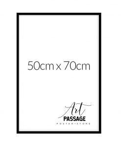 Ramka czarna na plakat 50x70