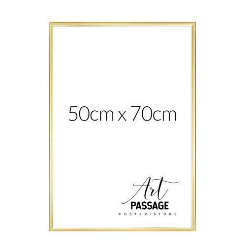 Złota rama na plakat 50x70