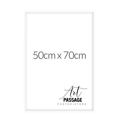 Biała rama 50x70 do plakatów
