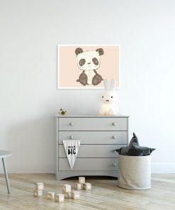 Plakat miś panda