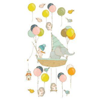 Naklejka ścienna baloniki