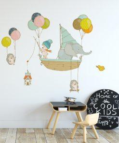 Naklejka na ścianę baloniki