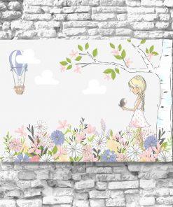 Obraz łąka kwiatów
