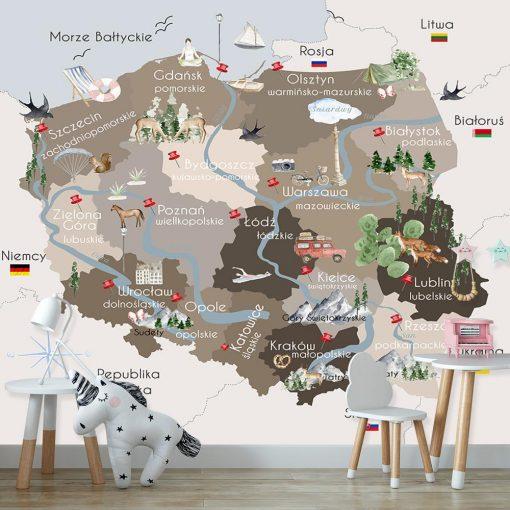 Tapeta motyw Polski