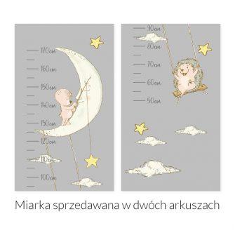 Miarka wzrostu z księżycem