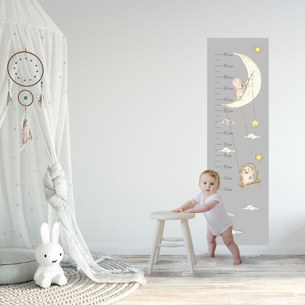dekoracje kosmos, księżyc, planety