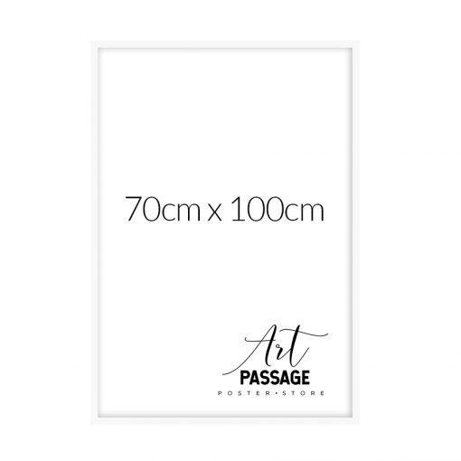 Rama biała na plakaty 70x100