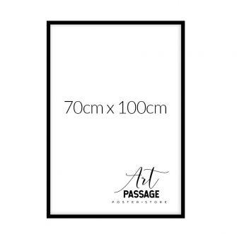 Rama czarna 70x100 do plakatów