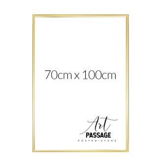 Złota rama na plakat 70x100