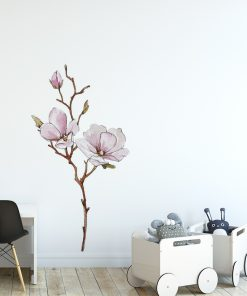 naklejka kwiat magnolii