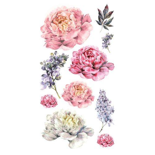 naklejki z motywem kwiatowym