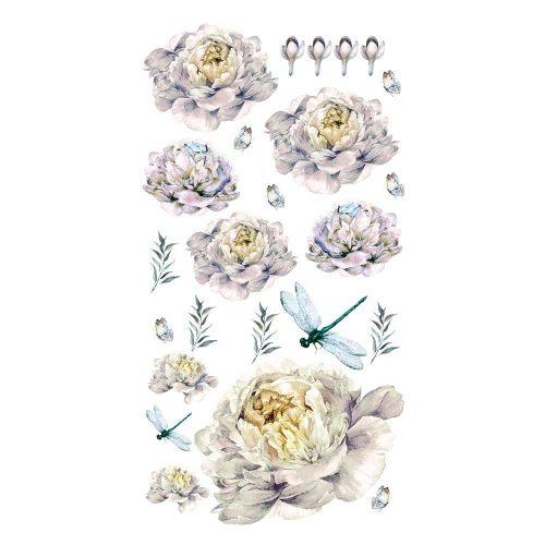 naklejka motyw kwiatowy