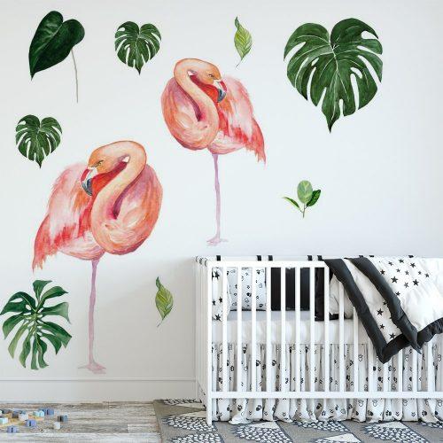 naklejka flamingi dla dzieci