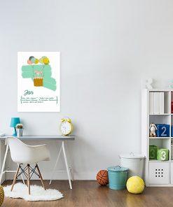 plakat geneza imienia dziecka