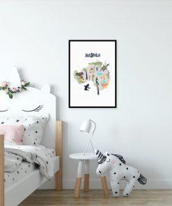 plakat australia i zwierzęta