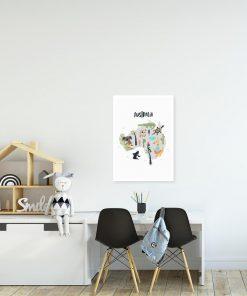 szary plakat australia