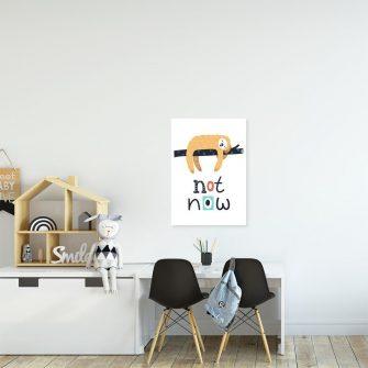 plakat leniwiec