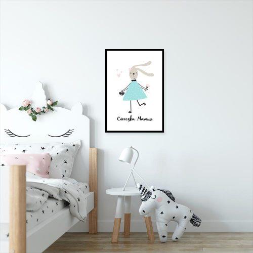 plakat króliczek