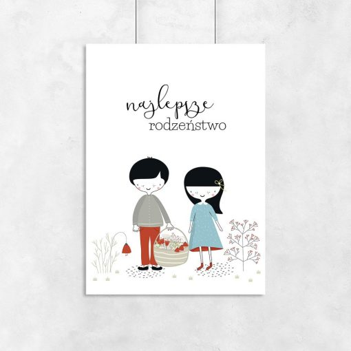 plakat rodzeństwo