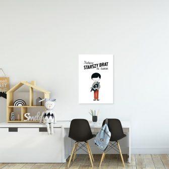 plakat chłopiec
