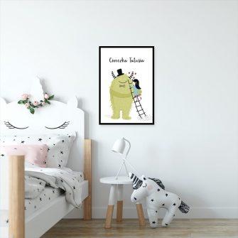 plakat dla dziewczynki
