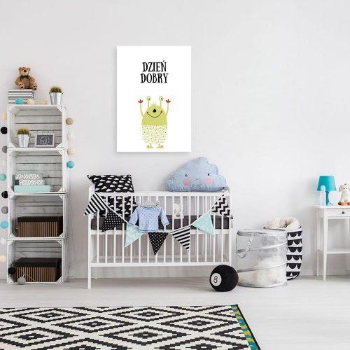 plakat dziecięcy nad łóżeczko